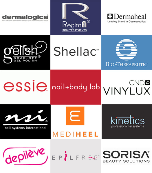 Nail + Body Lab in-store brands